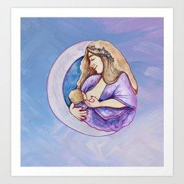 Breastfeeding Art Print