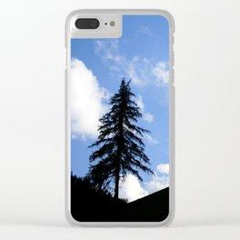Dark Forest, Light Feeling Clear iPhone Case