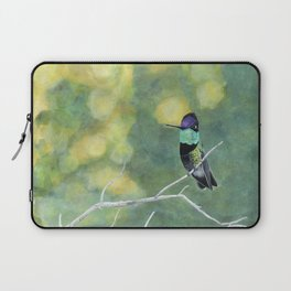 Hummingbird at Dawn Laptop Sleeve