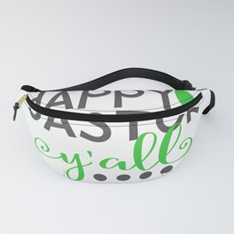 Happy Easter Y'all Cute Bunny Ear Gift Fanny Pack