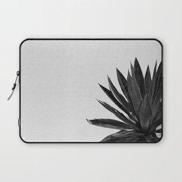 Agave Cactus Black & White Laptop Sleeve