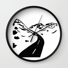 Oldy Road Wall Clock