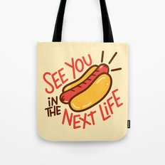 Eternal Hot Dog Tote Bag