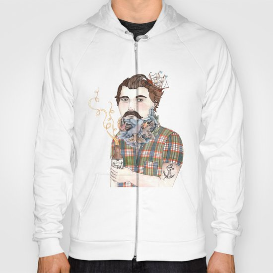 Flock of Beards Hoody