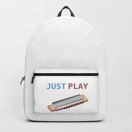 Just Play the Harmonica Backpack