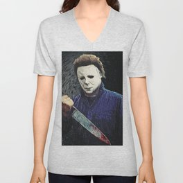 Michael Myers Unisex V-Neck