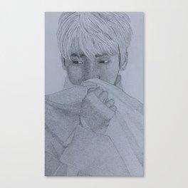 Shinee Jonghyun Canvas Print