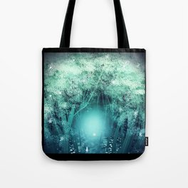 Light Forest Tote Bag