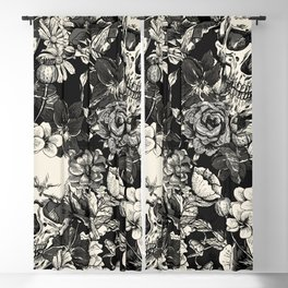 SKULLS HALLOWEEN SKULL Blackout Curtain