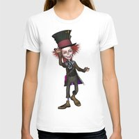 mad hatter T-shirts featuring Mad Hatter by apgme