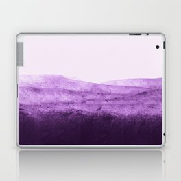 Amethyst Watercolor Crush Laptop & iPad Skin
