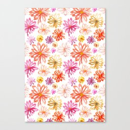Painted Floral I Canvas Print