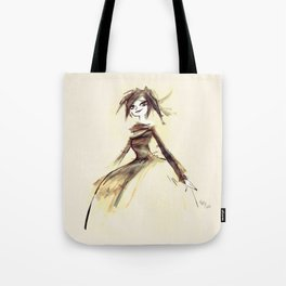 Gothic Lady Tote Bag