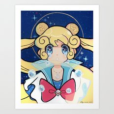Tears of the Moon Art Print