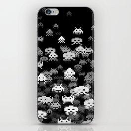 Invaded BLACK iPhone Skin