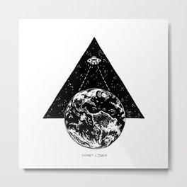 Descent Metal Print