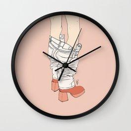 Pants Off Friday Wall Clock