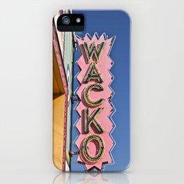 WACKO iPhone Case