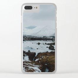Glencoe, Scotland Clear iPhone Case
