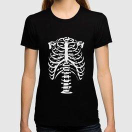 Skeleton Ribs Bones T-shirt