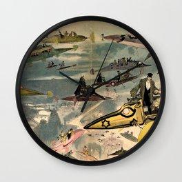 La Sortie de l'opéra en l'an 2000 Wall Clock
