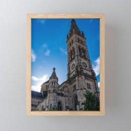 Stuttgart : Matthäuskirche Framed Mini Art Print