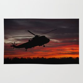 Sunrise Search And Rescue Rug