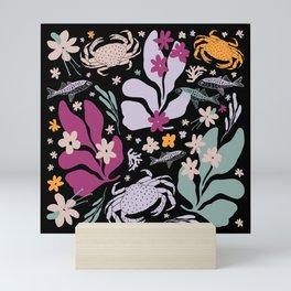 Summer Sea Life Abstract Magic Mini Art Print
