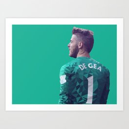 David De Gea - Manchester United Art Print