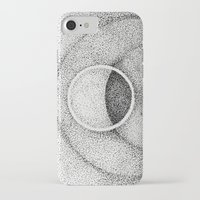 the moon iPhone & iPod Cases featuring Moon by Rui Ribeiro