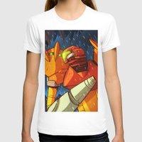 samus T-shirts featuring Samus (Metroid) by Peerro