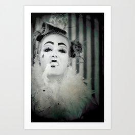 Clowning Around Art Print