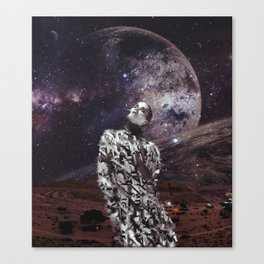 child of the universe. V2 Canvas Print
