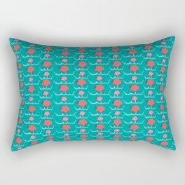 Don't Follow the Herd Rectangular Pillow