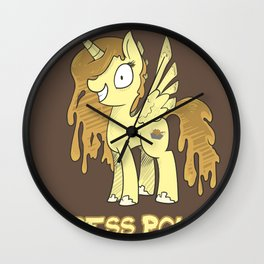 Princess Poutine Wall Clock
