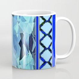 AQUAMARINE MARCH GEM BIRTHSTONE MODERN ART Coffee Mug