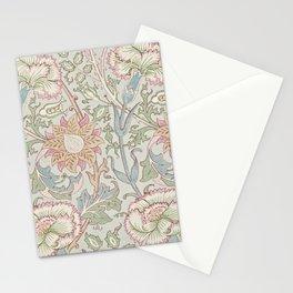 William Morris Vintage Pink & Rose Eggshell Blue Rose Pink Stationery Cards