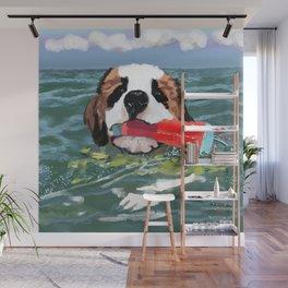 Sulley swims Georgian Bay Wall Mural