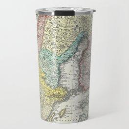 Vintage Map of Scandinavia (1730)  Travel Mug