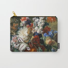 "Jan van Huysum ""Bouquet of Flowers in an Urn"" Carry-All Pouch"