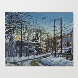 Ellicott City Flood Relief- Snow Canvas Print