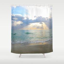 Beach #7 Shower Curtain