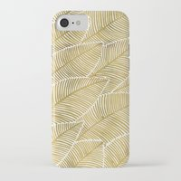 tropical iPhone & iPod Cases featuring Tropical Gold by Cat Coquillette