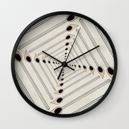 Playing with Matches Wall Clock