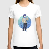 vocaloid T-shirts featuring Kaito - VOCALOID Gakuen by Tenki Incorporated