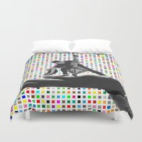 dirty dancing Duvet Covers featuring Dancing by Cs025