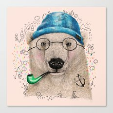 Polar Sailor Canvas Print