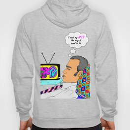 I Want my MTV the way it used to be, 90's Ewan McGregor Illustration Hoody