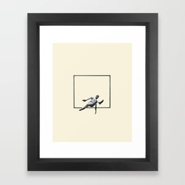 Hurdle (Rectangle) Framed Art Print