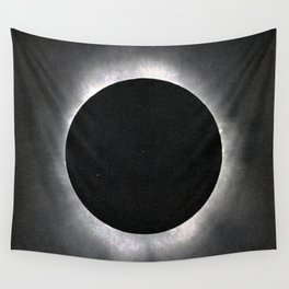 Black Eclipse Wall Tapestry